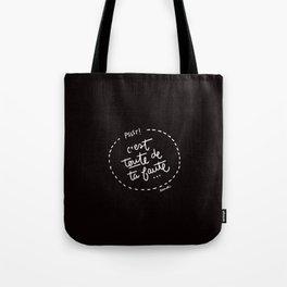 Ta Faute - White Tote Bag