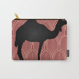 Art deco camel Carry-All Pouch