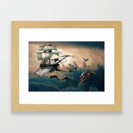Creativity vs Gravity Framed Art Print