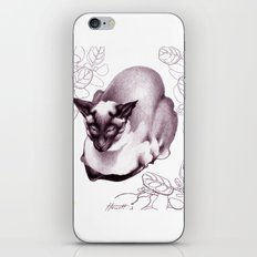 Siamese Champion Cat iPhone & iPod Skin