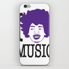 I __ Music iPhone Skin