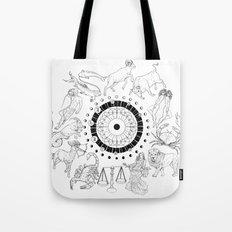 As Above, So Below - Zodiac Illustration Tote Bag