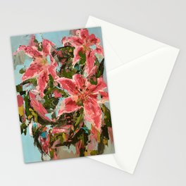 Tiger Lilies - Botanical Series by Meredith Marsone Stationery Cards