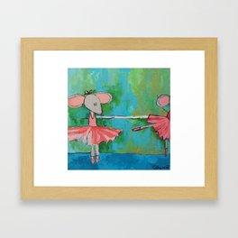 Dance Class Framed Art Print