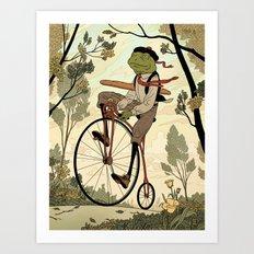 Morning Ride Art Print
