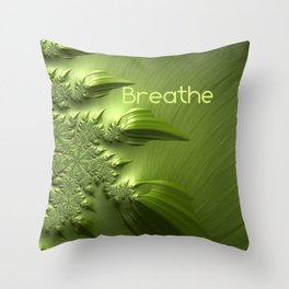 Breathe Throw Pillow