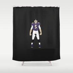 NeverMore - Joe Flacco Shower Curtain