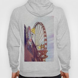The Crab Pot and Seattle Great Wheel Hoody