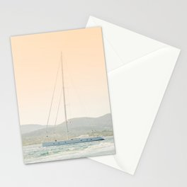 Nautical Art Print - Boat & Travel Photography - Sailing on Ocean Photo  Stationery Cards