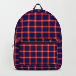 Maasai Shuka - Blue & Red Backpack