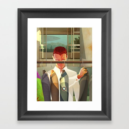 Norm! Framed Art Print