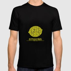 30 rock - liz lemon MEDIUM Black Mens Fitted Tee