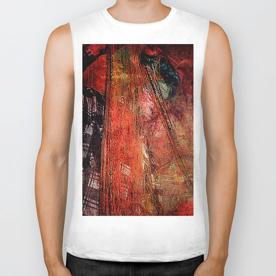 Sicilian Fisherman    (This Artwork is a collaboration with the talented artist Agostino Lo coco) Biker Tank