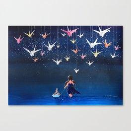 Origami Dream Canvas Print