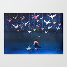 Origami Dream Canvas Print