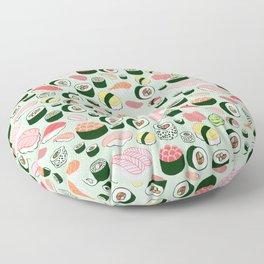 Sushi Love Floor Pillow