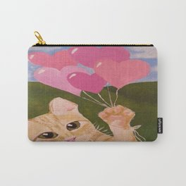 Lovely Kittie Carry-All Pouch