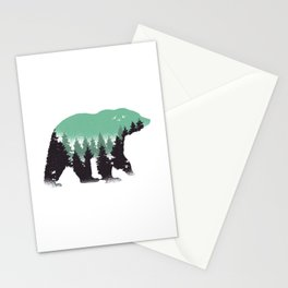 Bear over there Stationery Cards