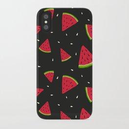 Watermelons in tha dark iPhone Case