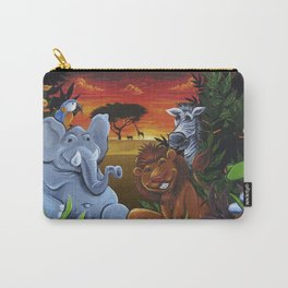 Jungle Mural Carry-All Pouch