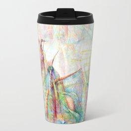Vegetal color chaos Travel Mug