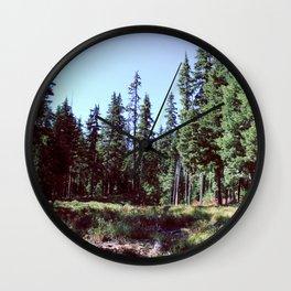 Sahalie Falls Trail Wall Clock