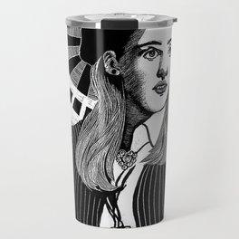 Patron Saint of 90s Fashion Travel Mug