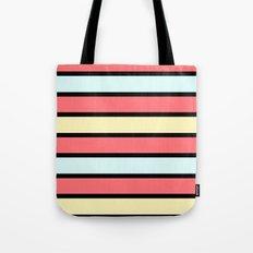 Color band 70's - Formica Stripe Tote Bag