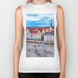 Tallinn art 10 #tallinn #city Biker Tank