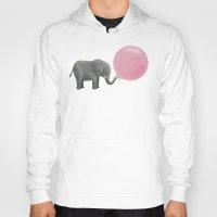 dumbo Hoodies featuring Jumbo Bubble Gum by Terry Fan