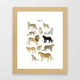 Wild Cats Framed Art Print