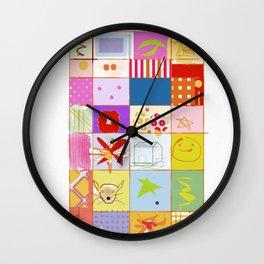SUMMER QUILT Wall Clock