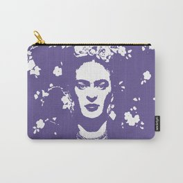 Ultra Violet Frida Carry-All Pouch