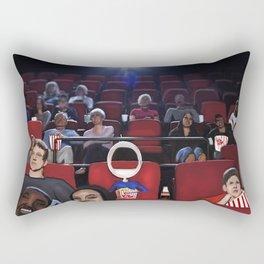 Corky @ the Cinema Rectangular Pillow