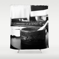 office Shower Curtains featuring Office by Difilippo