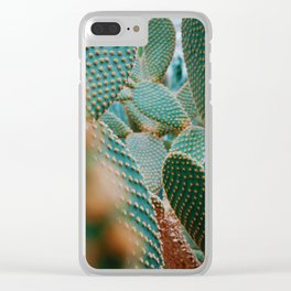 Cacti Photo Clear iPhone Case