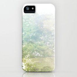 Where the sea sings to the trees - 9 iPhone Case