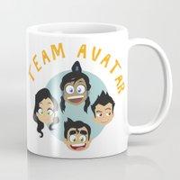 avatar Mugs featuring Team Avatar by tukylampkin