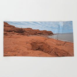 PEI North Cape Beach Towel