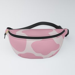 Pink cow print Fanny Pack