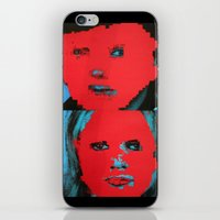 talking heads iPhone & iPod Skins featuring Talking Heads - Remain in Light by NICEALB