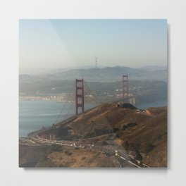 The beautiful city of San Francisco. Metal Print