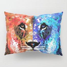 Lion Art - Majesty - Sharon Cummings Pillow Sham