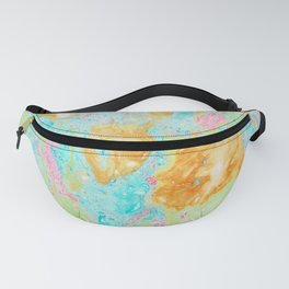 Acid on Easter (Alcohol Inks Series 02) Fanny Pack
