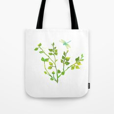 Dragonfly Three  Tote Bag