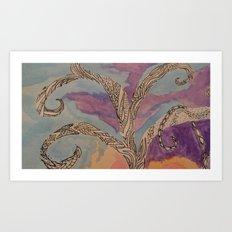 Treet Me Well Art Print
