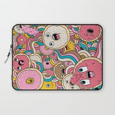 Donut Doodle Laptop Sleeve