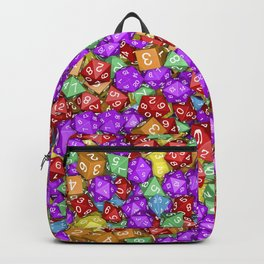 RPG Gamer Dice Backpack