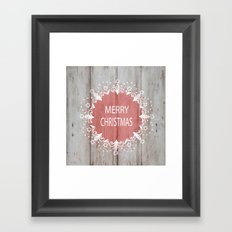 Merry Christmas #2 Framed Art Print