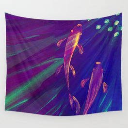 Traveling Together Wall Tapestry